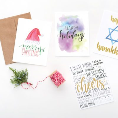 Holiday Card Assortment, Box of 8