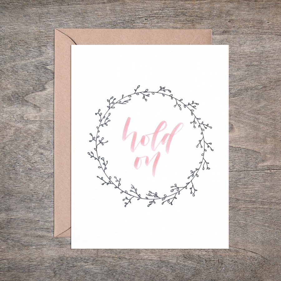 cards for mamas from mamas - hold on card