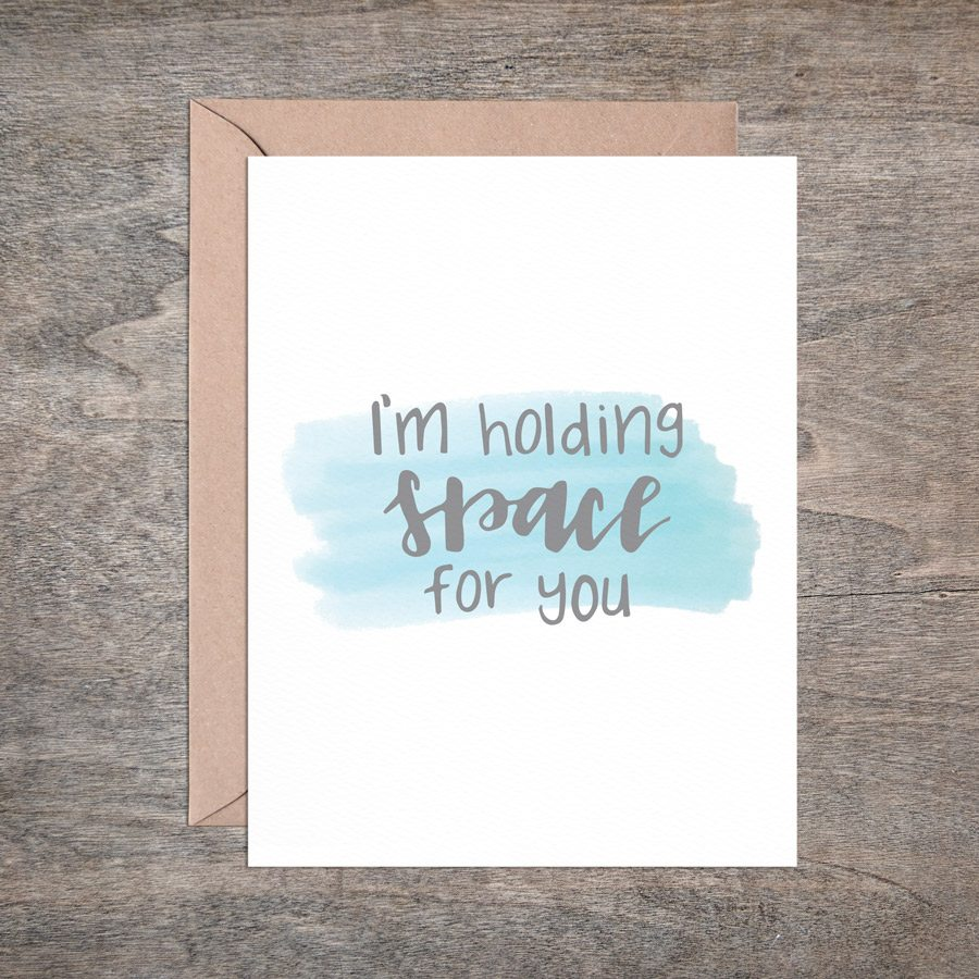 greeting cards for mamas from mamas - holding space
