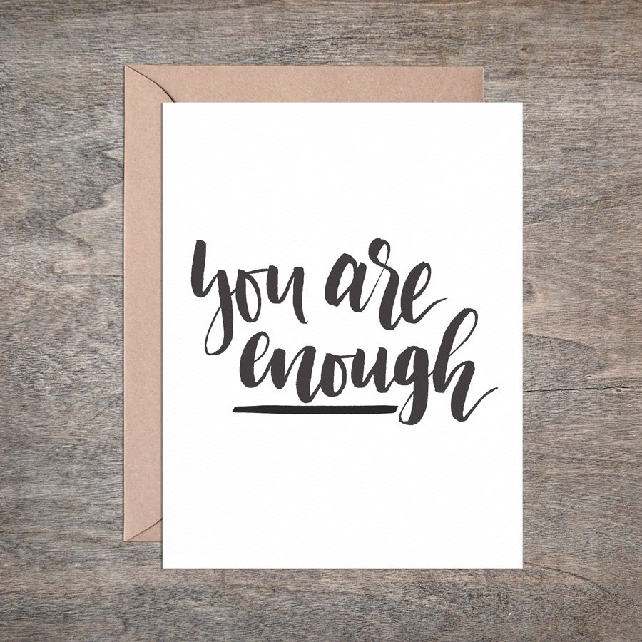 greeting cards for mamas from mamas - you are enough