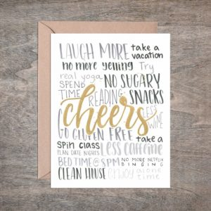 Cheers Holiday Card – Box of 8