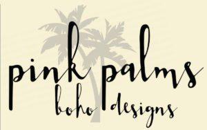 Pink Palms Boho Designs