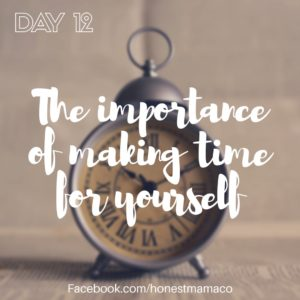 30 Days of Facebook Live // The Importance of Making Time for Yourself