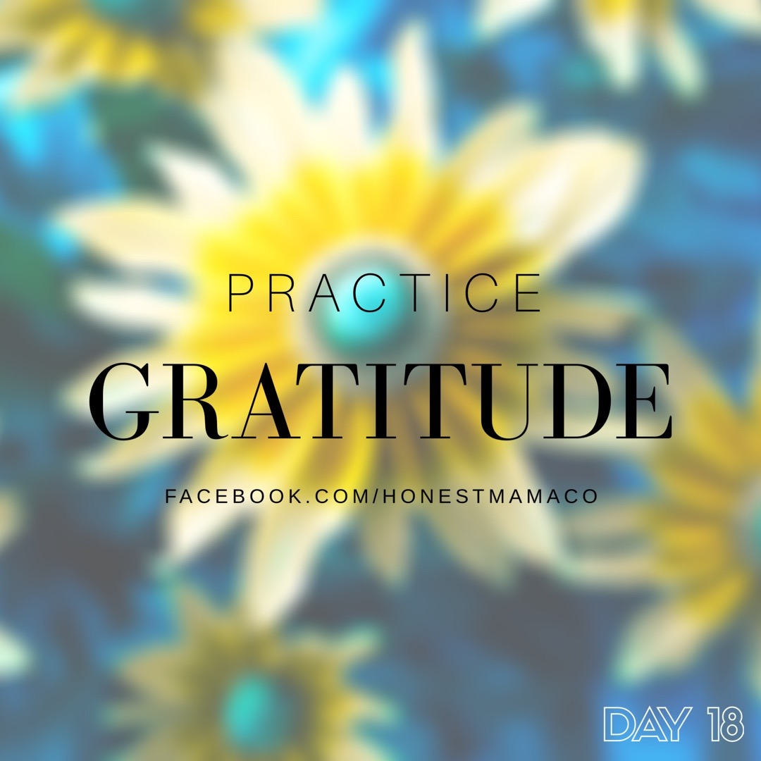 30 Days of Facebook Live // Practicing Gratitude
