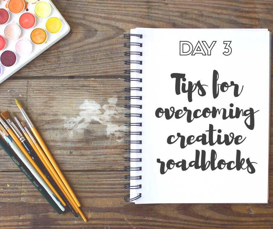 30 Days of Facebook Live // Tips for Overcoming Creative Roadblocks