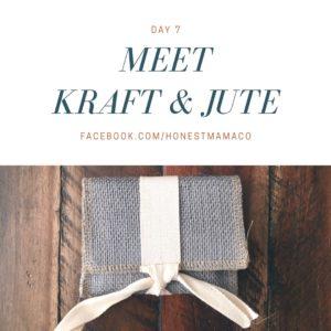 30 Days of Facebook Live // Meet Kraft and Jute