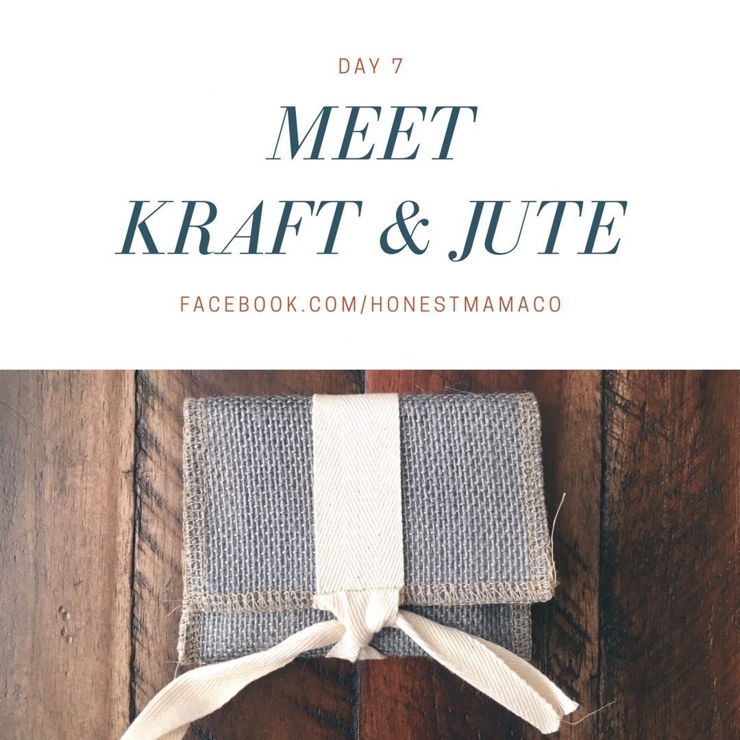 30 Days of Facebook Live // Meet Kraft and Jute