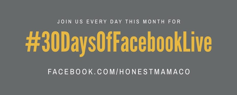 30 Days of Facebook Live