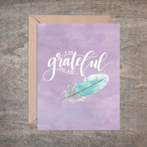 Grateful For You Card – Box of 8