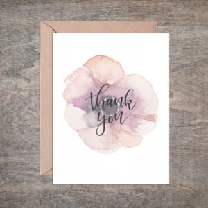 Simple Thank You Card – Box of 8