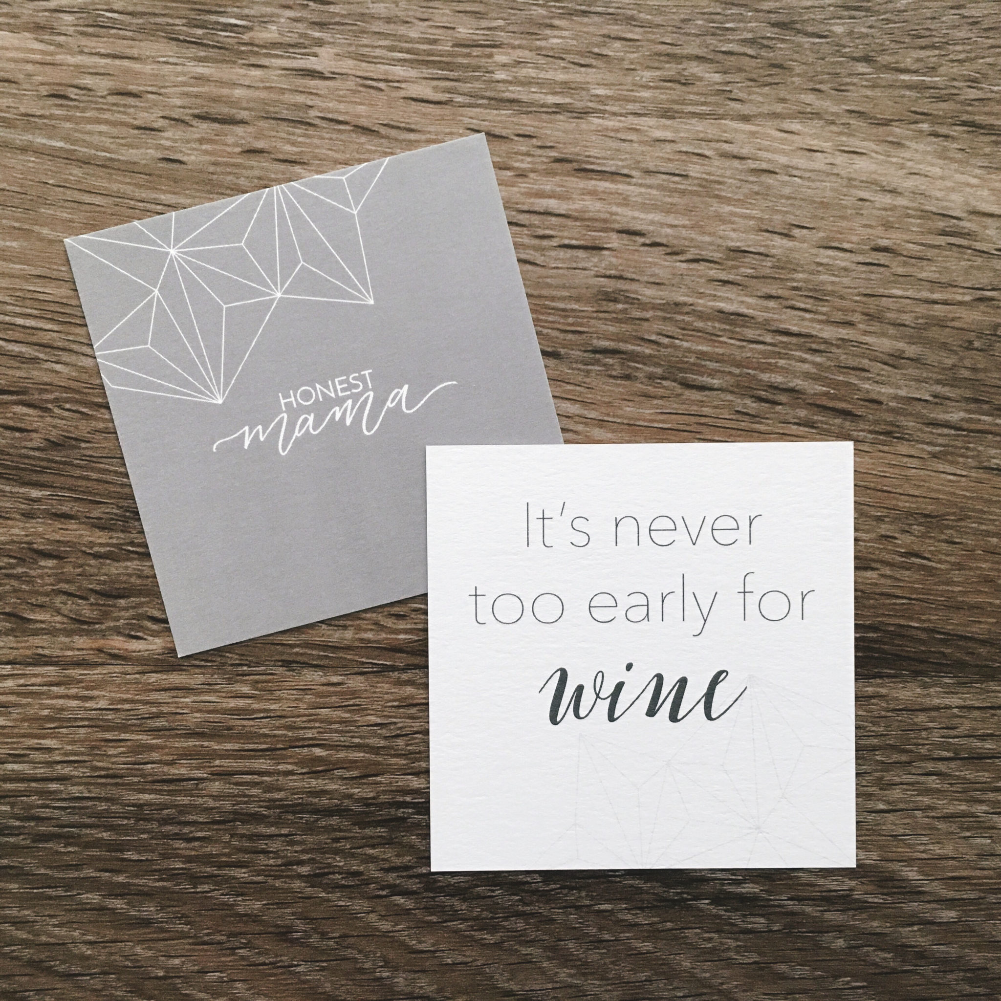 Honest Mama Connection Cards